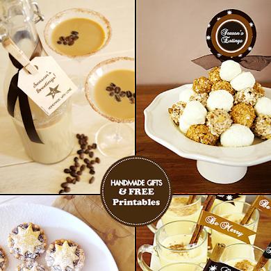 Handmade Edible Gift Ideas & Free Printable Gift Tags