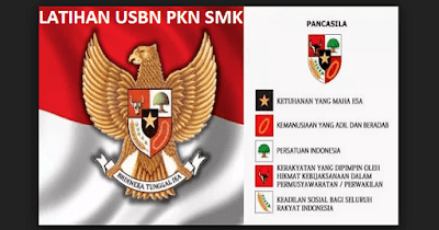 Prediksi Contoh Soal USBN PPKN/ PKN SMK 2019 dengan jawaban Lengkap