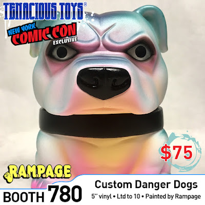 New York Comic Con 2018 Exclusive Mexifubi Danger Dog Vinyl Figure by Rampage Toys x Tenacious Toys