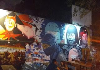 fiesta clandestina en Palermo  100 personas y DJ's en vivo.