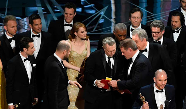 Oscar 2017 confusão melhor filme