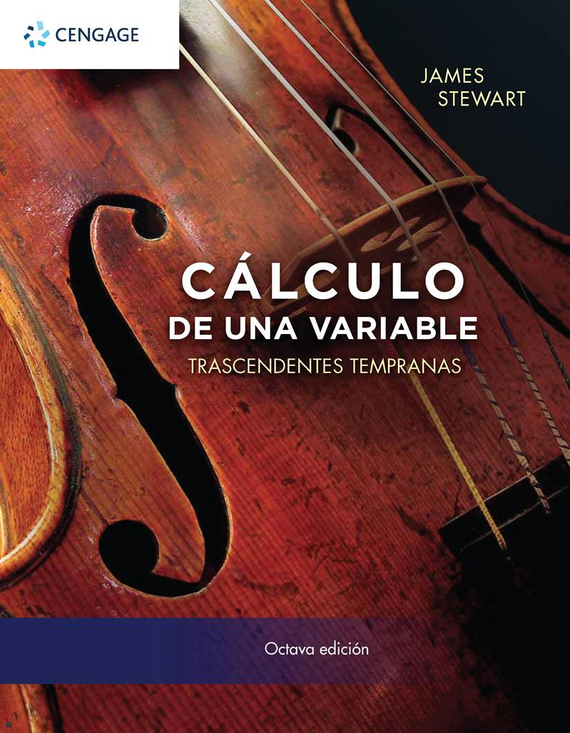Cálculo de una variable trascendentes tempranas, 8va Edición – James Stewart
