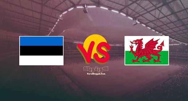 نتيجة مباراة ويلز وإستونيا اليوم 8 سبتمبر 2021 في تصفيات أوروبا المؤهلة لكأس العالم 2022