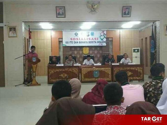 Dibuka Wabup Mashuri, IWO Merangin Gelar Sosialisasi UU ITE dan Bahaya Berita Hoax