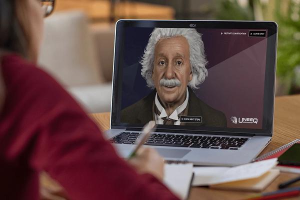 شركة تطور نسخة رقمية من إينشتاين بناء على الذكاء الاصطناعي يمكن للمستخدمين محادثتها!