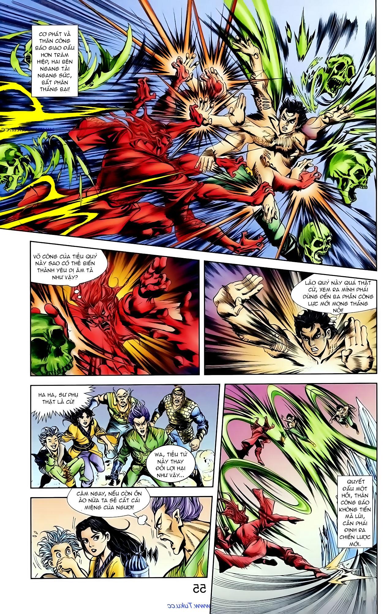Cơ Phát Khai Chu Bản chapter 100 trang 23