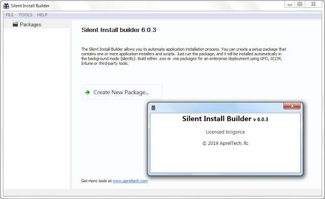 Screenshot Silent Install Builder 6.0.3 Full Version