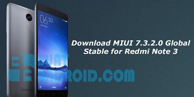 Cara Flashing Global ROM Xiaomi Redmi Note 3 Pro Terbaru