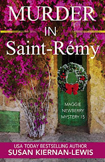 Murder in St-Rémy - a pageturner cozy mystery book promotion by Susan Kiernan-Lewis