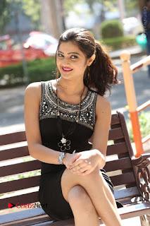 Actress Poojitha Pallavi Naidu Stills in Black Short Dress at Inkenti Nuvve Cheppu Movie Platinum Disc Function  0212.JPG