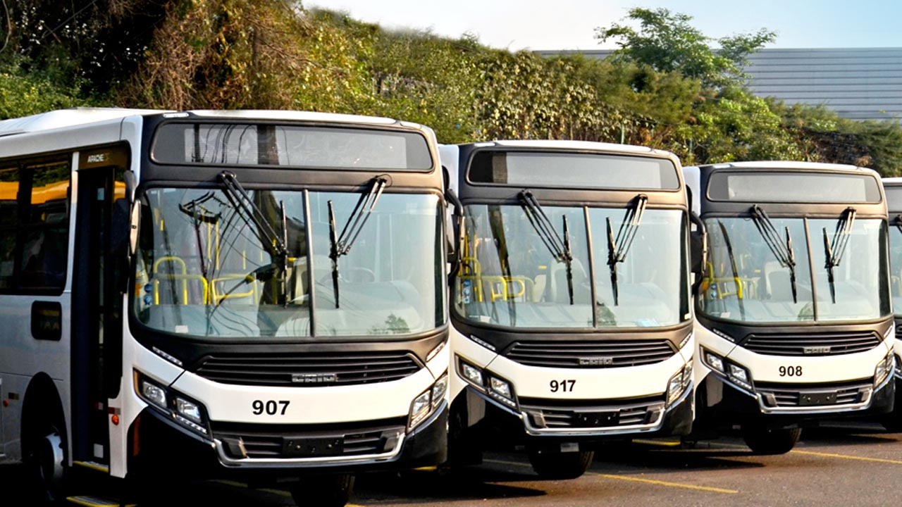 CAIO exporta lote de ônibus para o transporte coletivo de Angola