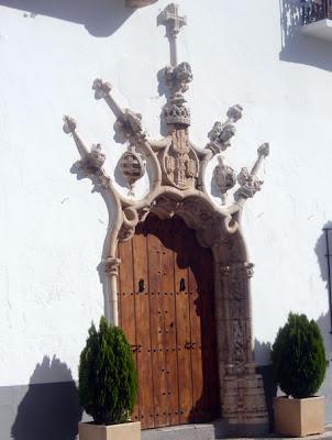 Olivenza, portada del Ayuntamiento