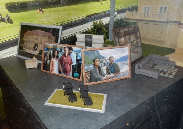 Downsizing miniature model furniture