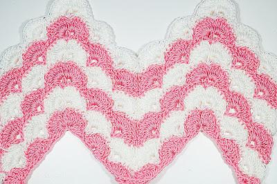 1 - CROCHET IMAGEN Puntada zig zag en abanicos a crochet y ganchillo. Majovel crochet.