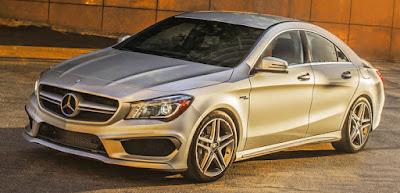 Mercedes CLA Facelift left side front look Hd Images 7