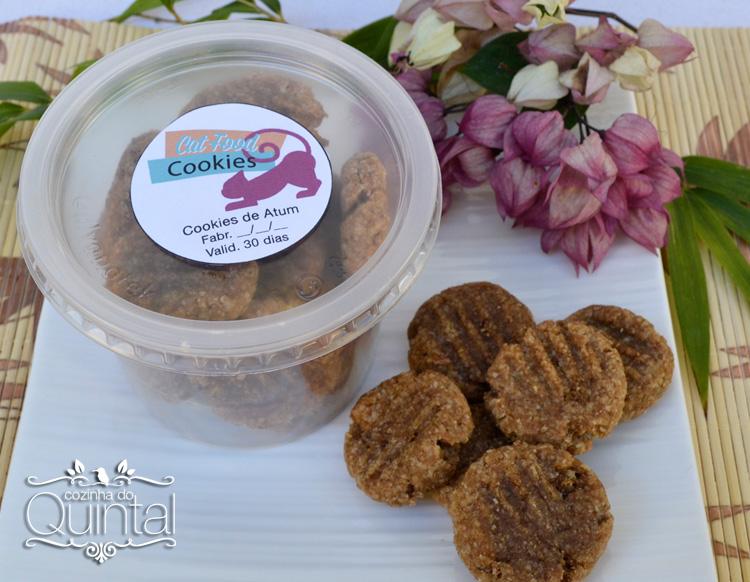 Cookies para Gatos no pote Galvanotek Simplific