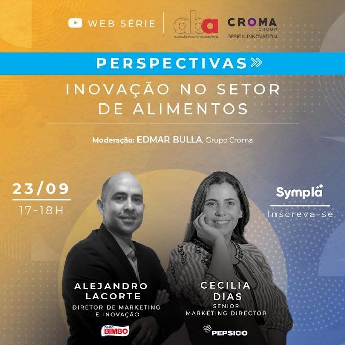 Pepsico e Bimbo debatem inovação no setor de alimentos em web série ao vivo