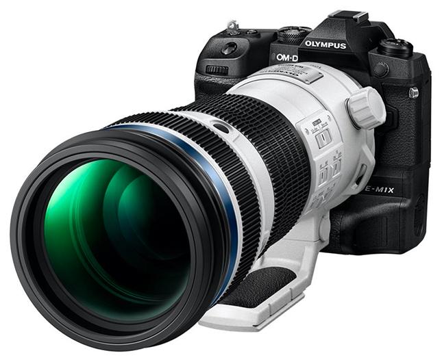 Olympus M.Zuiko 150-400mm f/4.5 TC1.25x IS Pro с камерой OM-D E-M1X