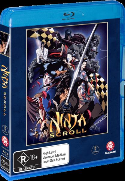 Blu Ray Review Ninja Scroll 1993 Mondo Cool