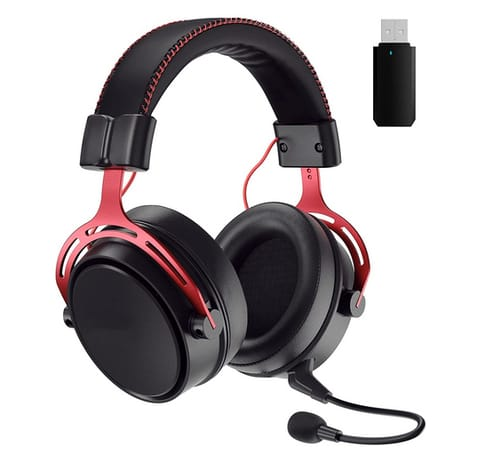 Wronwimi 3D Bass Wireless Gaming Headset for PS5