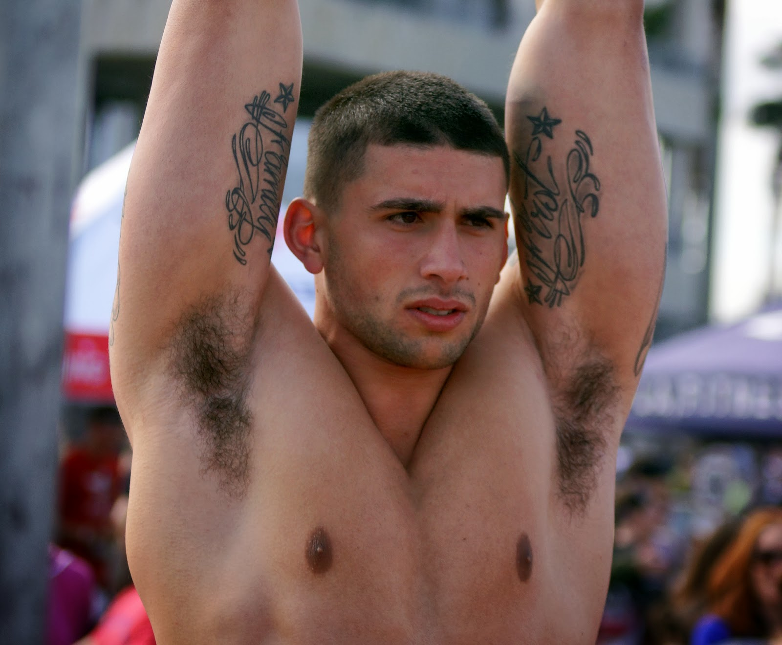 Men S Hairy Armpits 29