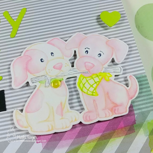 Newton's Nook Designs Puppy Pals Set - Naki Rager