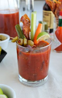 The Easiest Way On How To Make The Bloody Mary Smoothie Drink With Recipe