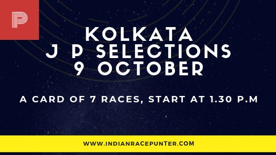 Kolkata Jackpot Selections 9 October