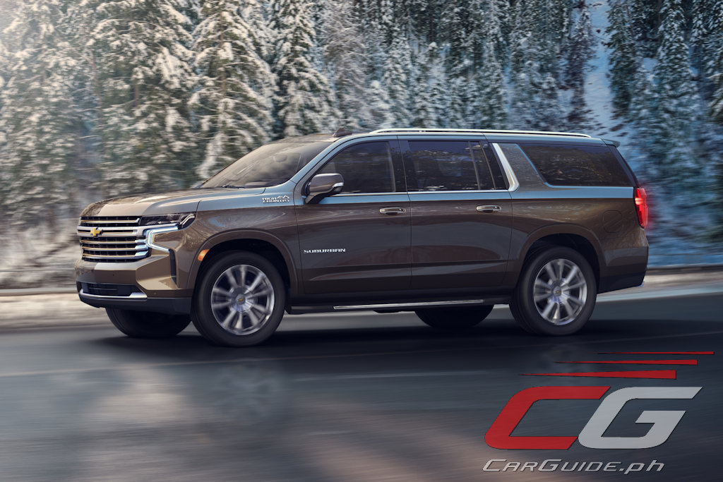 Chevrolet Introduces 2021 Tahoe and Suburban with ...