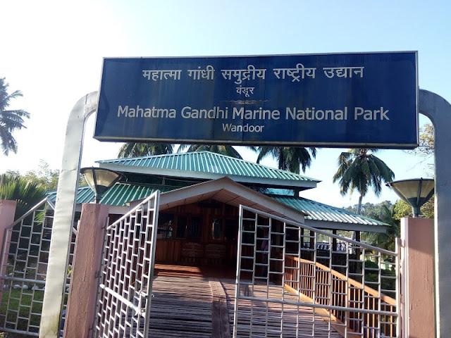 Mahatma Gandhi Marine National Park, Best Places to visit in Andaman & Nicobar