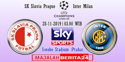Prediksi Slavia Praha vs Inter Milan — 28 November 2019
