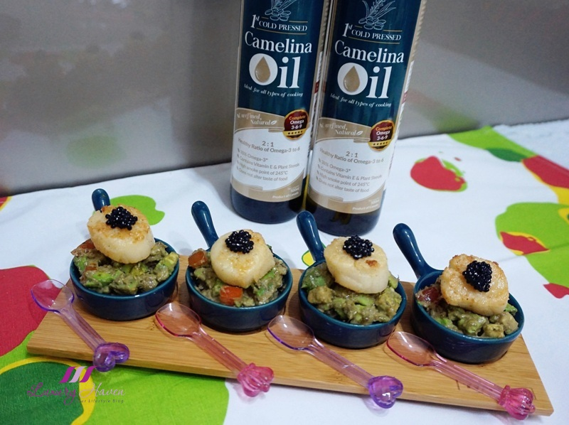 lifestream labo healthy gourmet camelina oil recipe