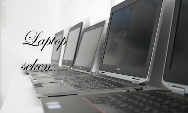 ilustrasi laptop seken yang baik