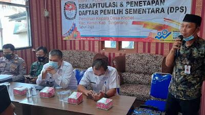 Setelah Panitia Tetapkan DPS, Terdapat Penambahan 377 Pemilih di Desa Klebet