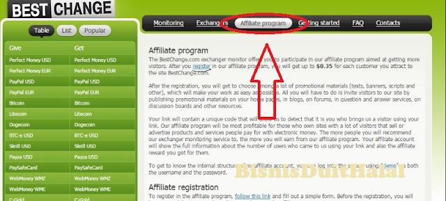 Bisnis Online Gratis Bersama BestChange