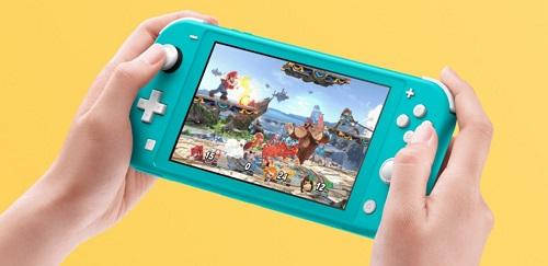 Nintendo Switch Lite saves battery