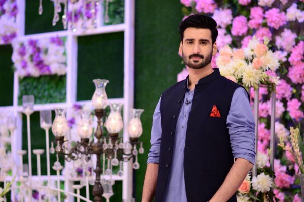 Good Morning Pakistan Hina Altaf and Agha Ali  Awesome Pictures