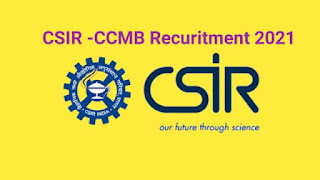 CSIR-CCMB Recruitment 2021 OUT – For Junior Secretariat Assistant – Apply Online – Salary up to Rs. 30,263