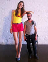 World's tallest woman