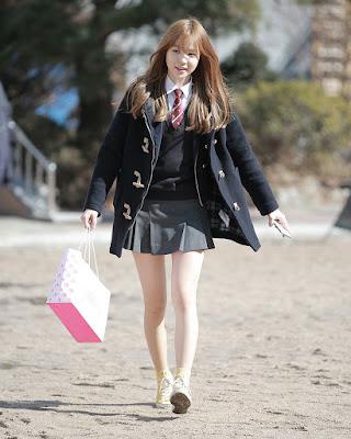 Seragam Siswi Sekolah Korean Selatan super seksi dan hor