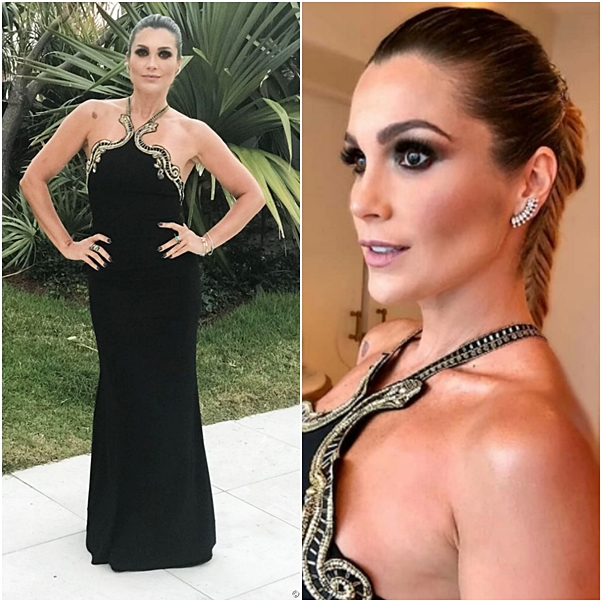Looks Brazil Foundation Gala Miami flavia alessandra