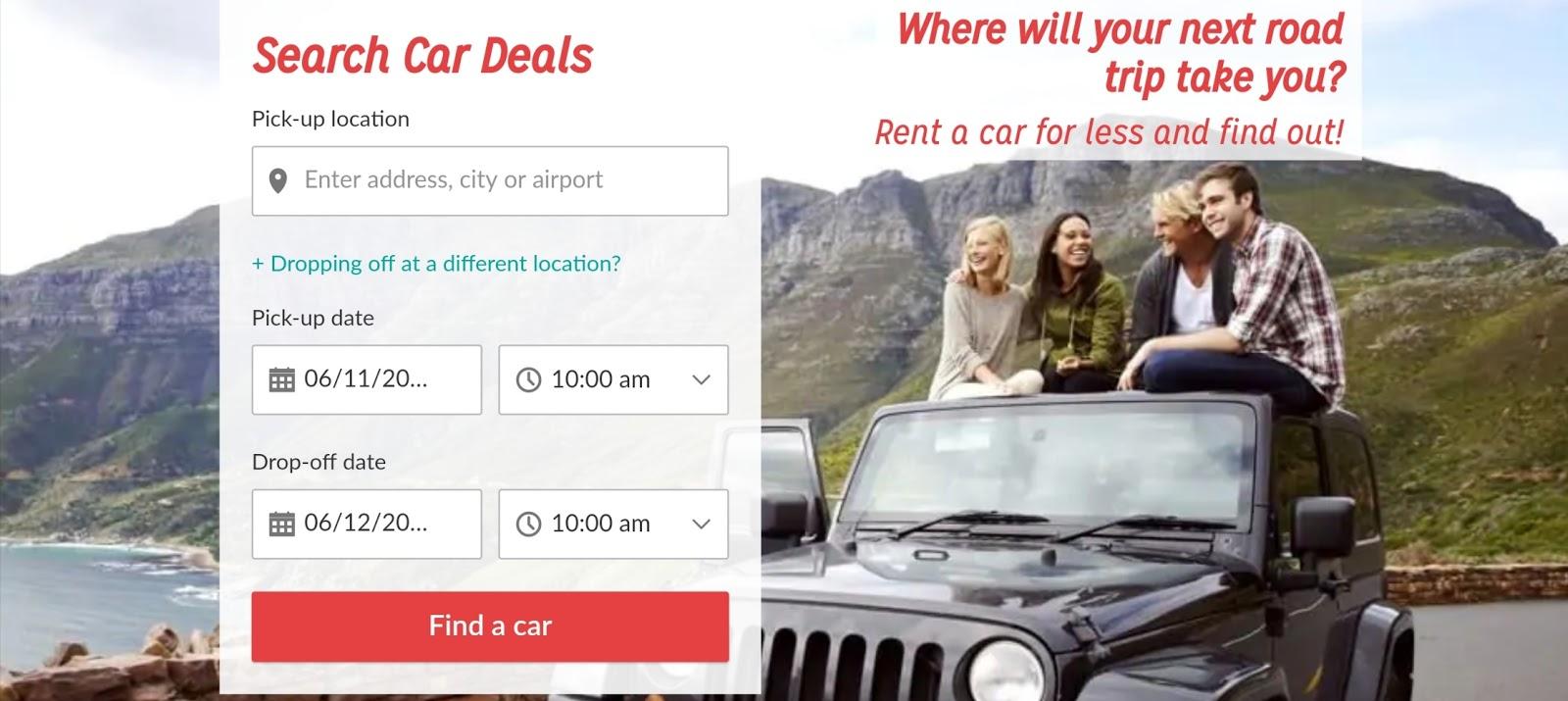 Haywire car rentals