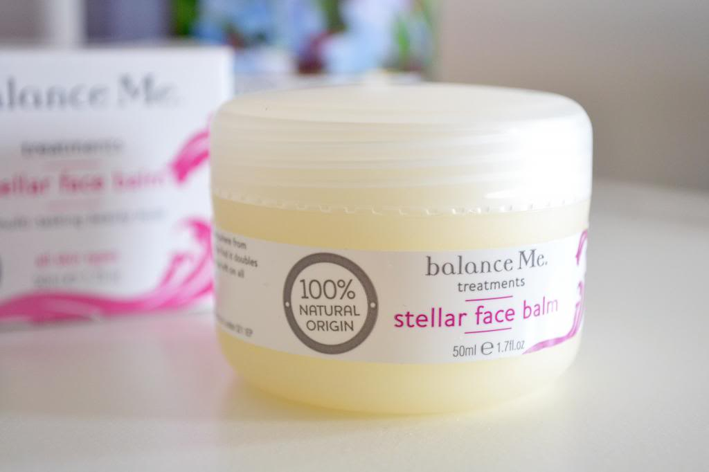 Balance Me Stellar Face Balm, product for dry skin