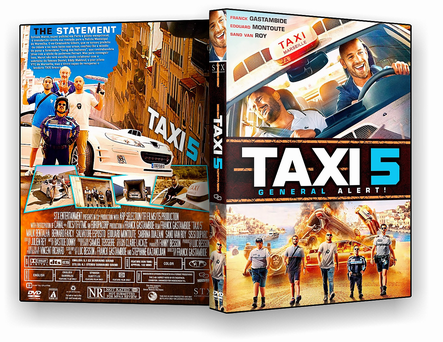 DVD Táxi 5 DVD-R AUTORADO