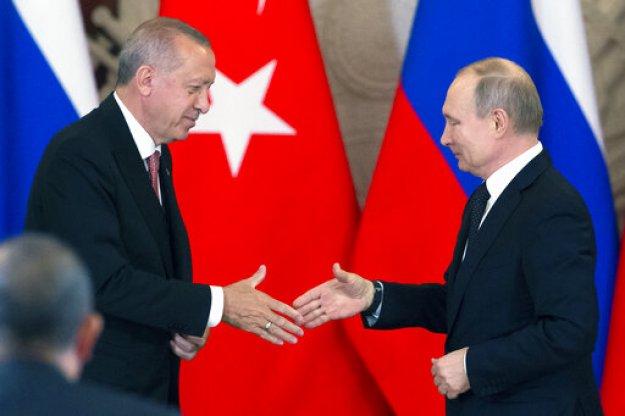 Σχέσεις στοργής Ρωσίας και Τουρκίας - Διευρύνεται η... συνεργασία
