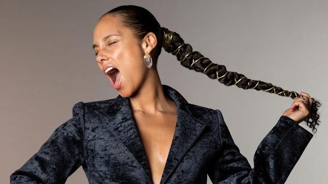 HERE de Alicia Keys, a un paso antes de haber terminado