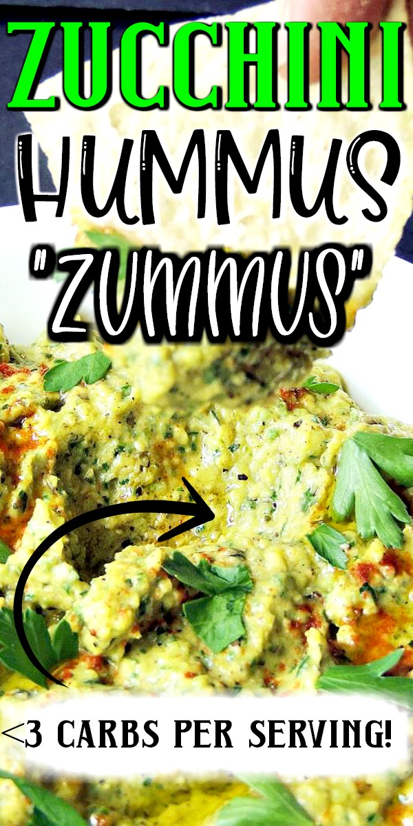 This keto zucchini hummus recipe takes hummus to the next level with fresh grilled zucchini. #keto #lowcarb #hummus #zucchini #easy #recipe #glutenfree #vegetarian | bobbiskozykitchen.com