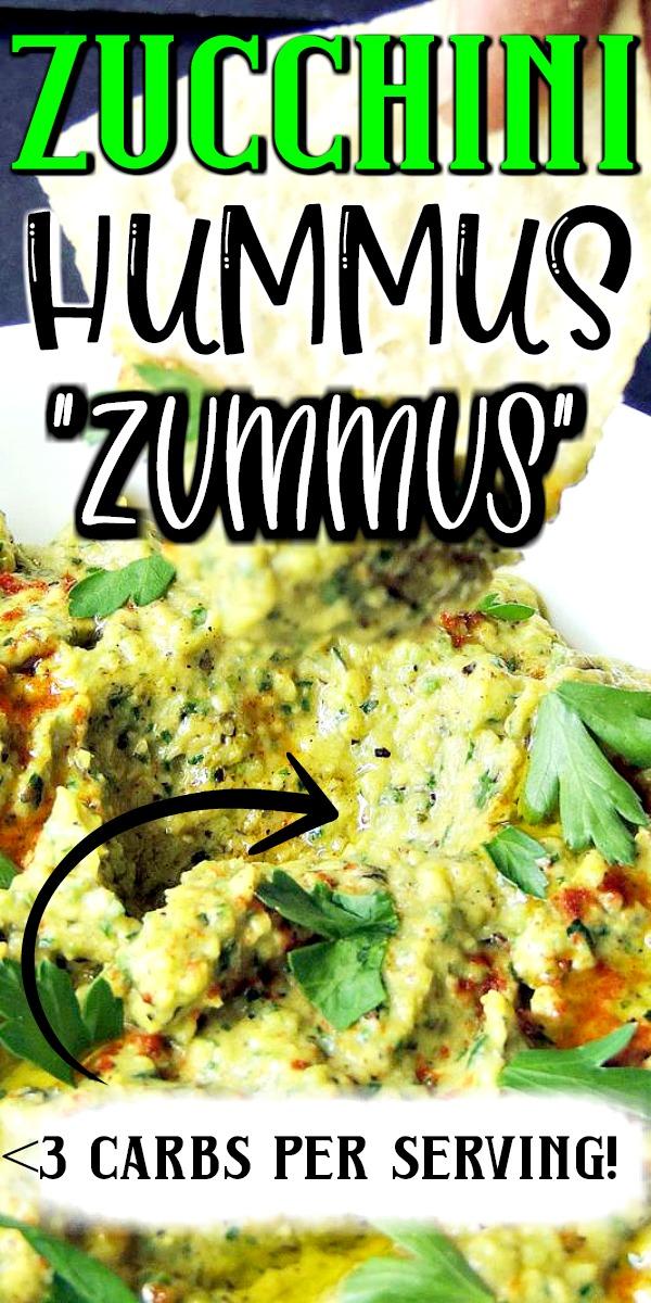 This keto zucchini hummus recipe takes hummus to the next level with fresh grilled zucchini. #keto #lowcarb #hummus #zucchini #easy #recipe #glutenfree #vegetarian | bobbiskozykitchen.com