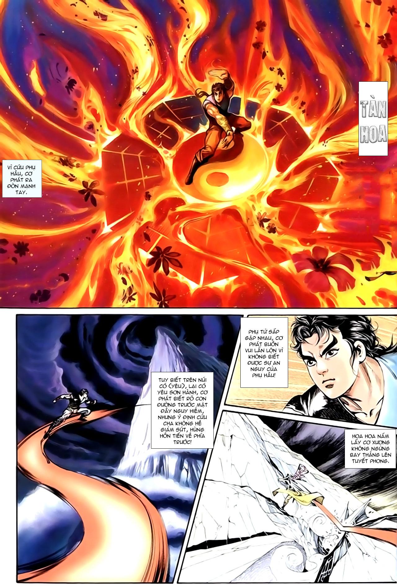 Cơ Phát Khai Chu Bản chapter 143 trang 3