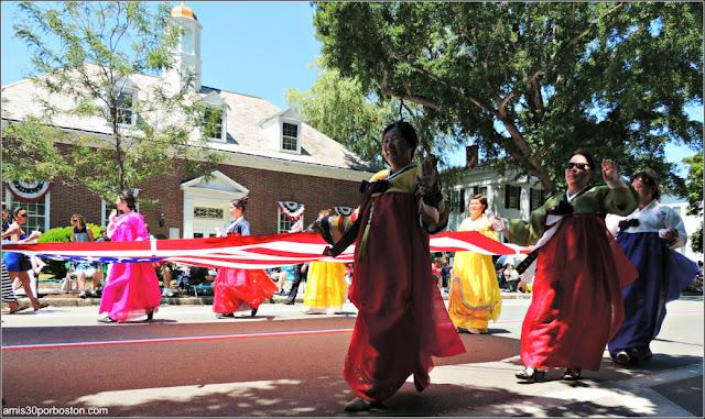 Corea Desfile del 4 de Julio de Bristol